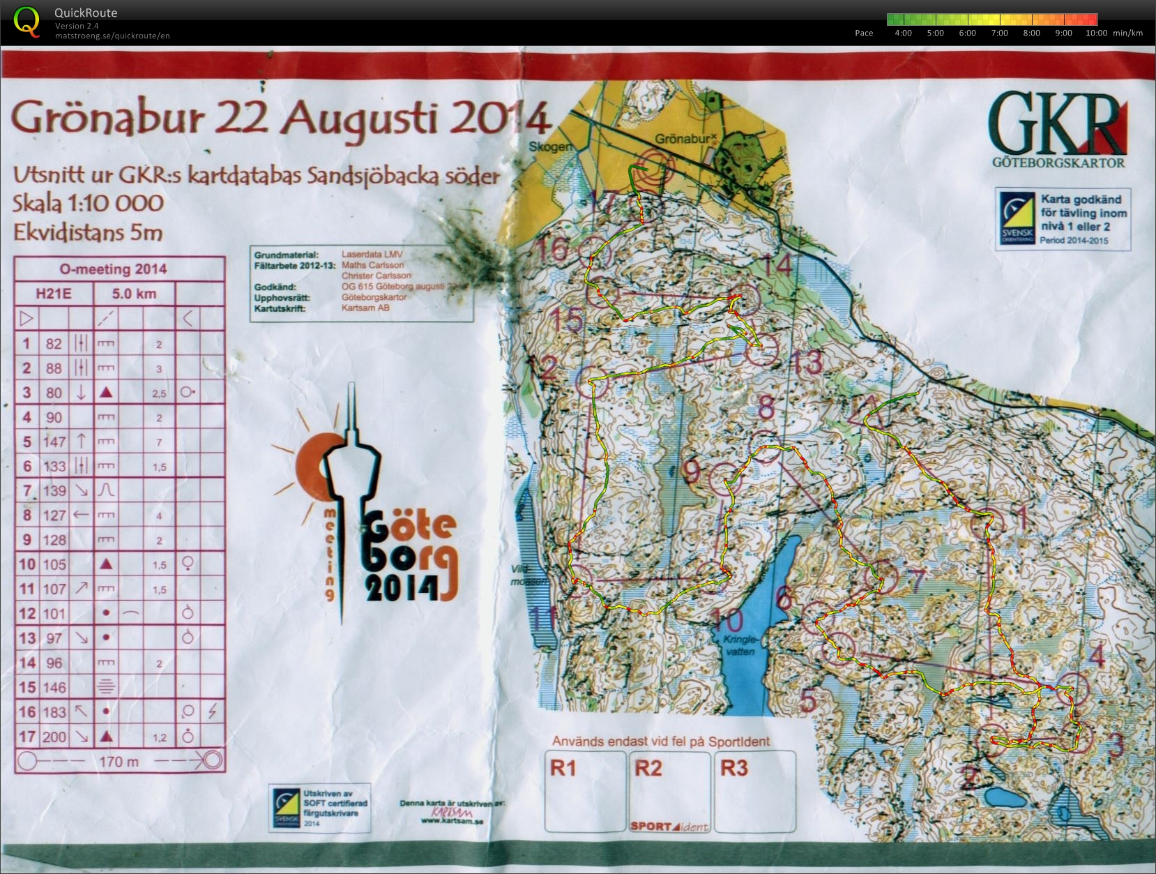 Goteborg O Meeting Middle (23/08/2014)