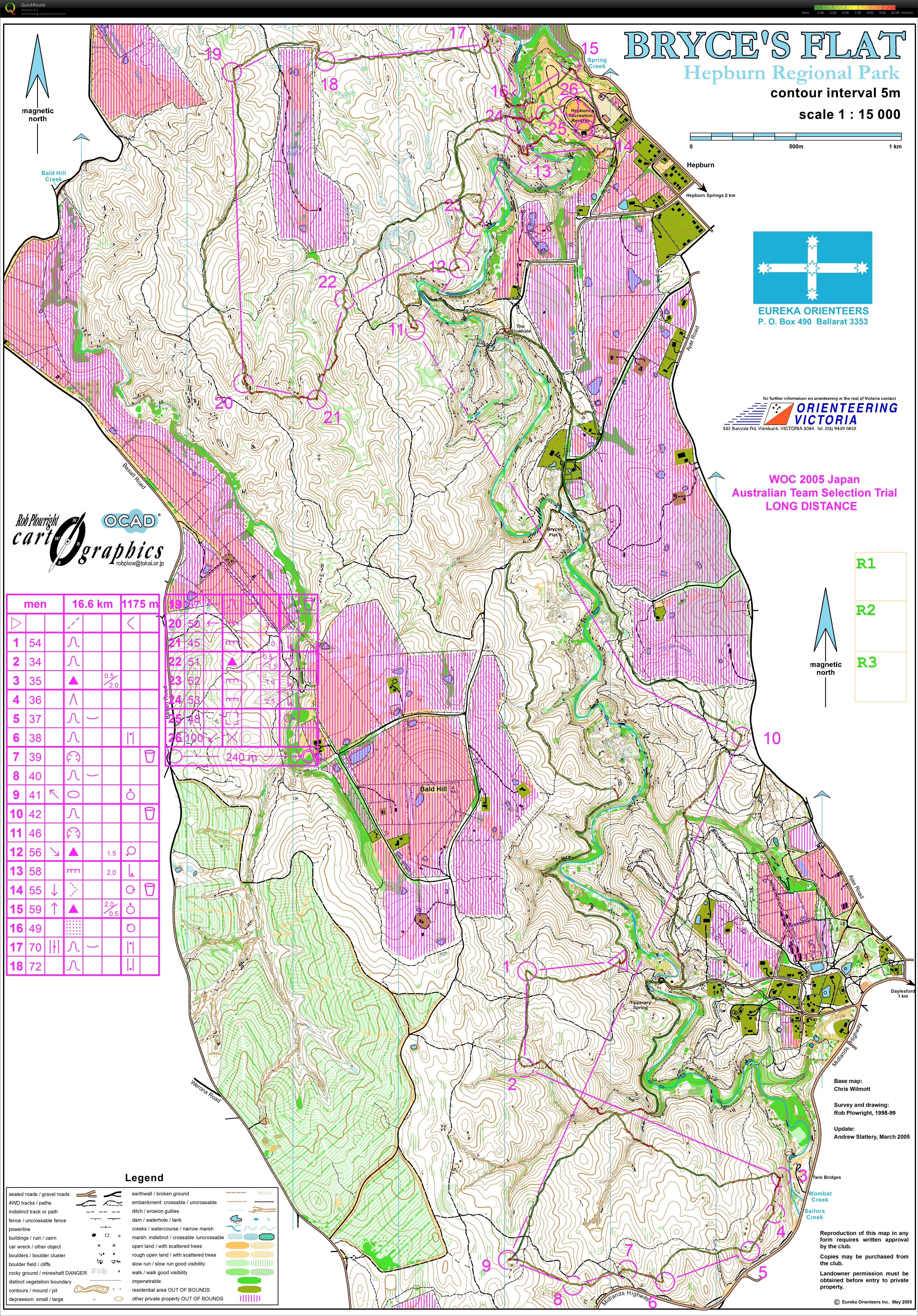2005 WOC classic selection race  (25/01/2015)