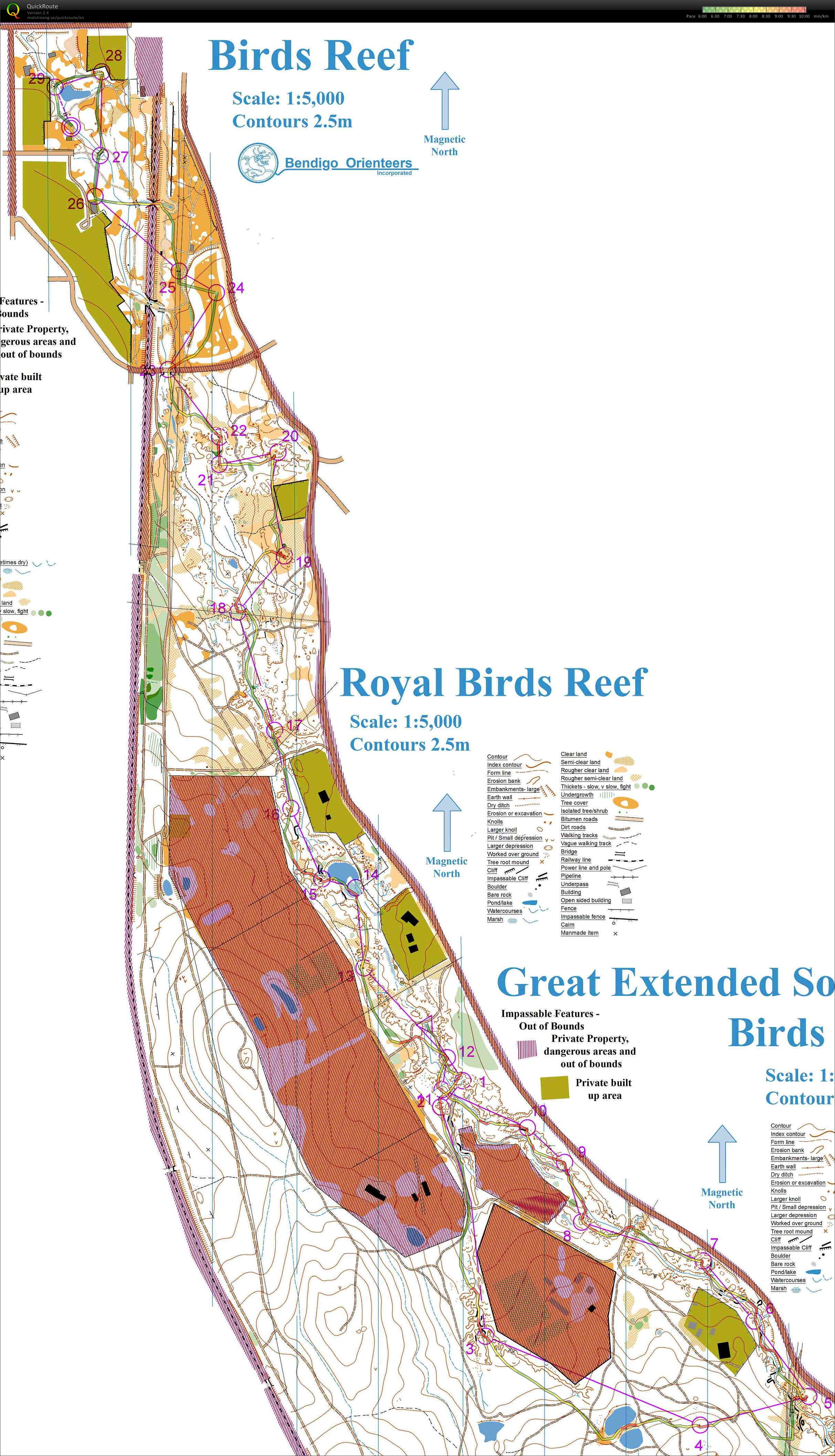Re-run of State Series Course 3 Birds Reef (24/09/2015)