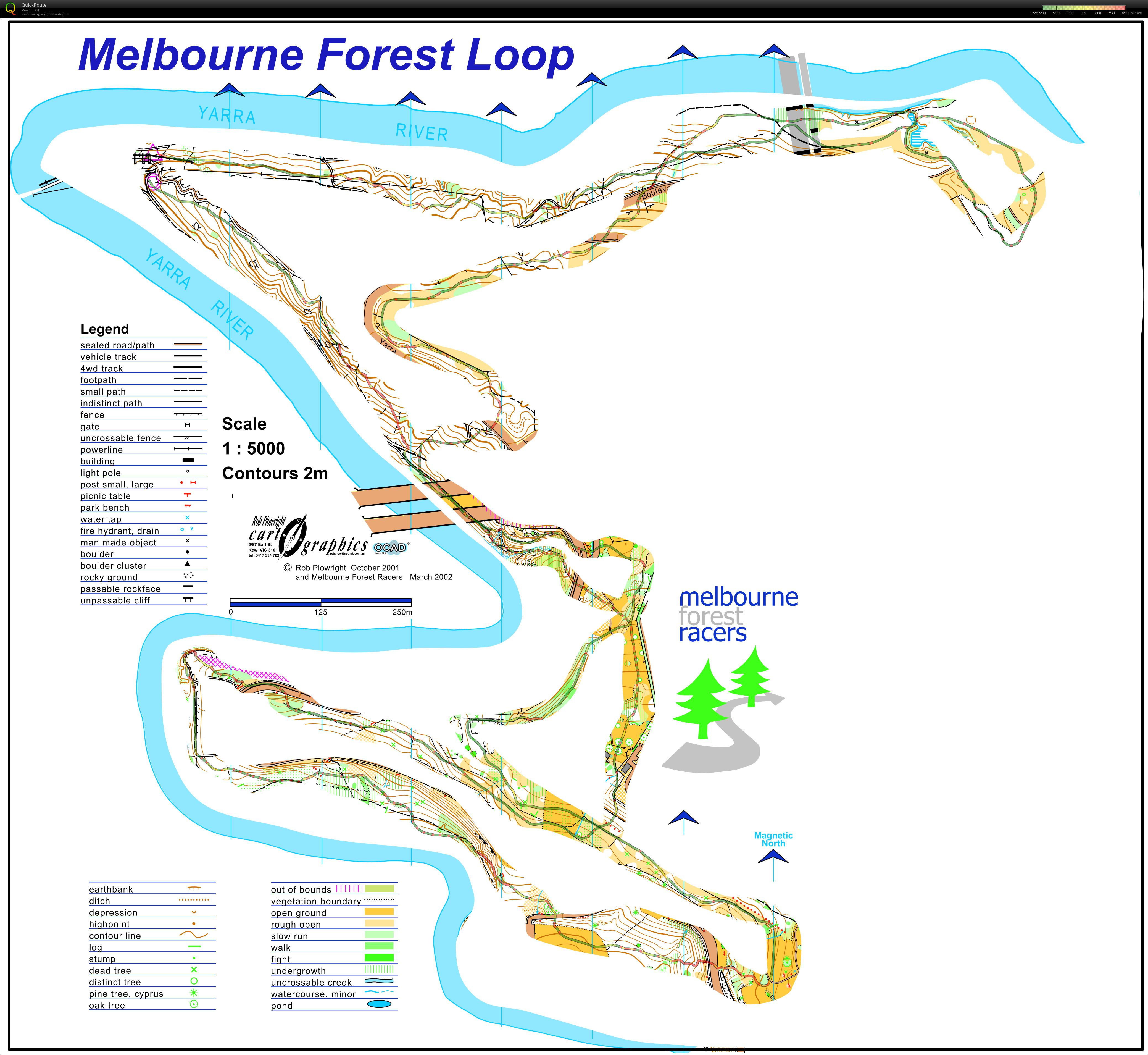 Melbourne Forest Loop (01/08/2020)