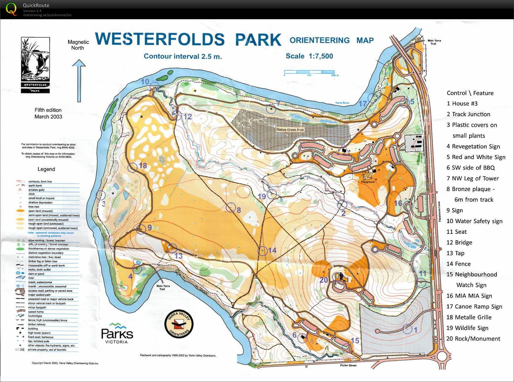 Bruce's digital orienteering map archive :: 2013 Saturday Series Event ...